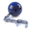 Bowling ball and chain