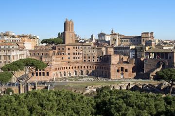 forum of Trajan in Rome, Italy