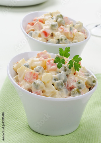Insalata russa - Russian traditional salad