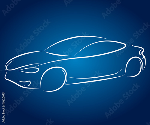 car design for business, silhouette