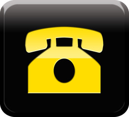 Botón telefono amarillo