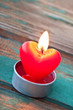 Herz - Kerze