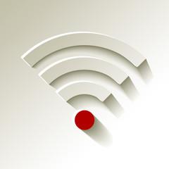 WiFi Wlan Rot Signalstärke sehr schwach