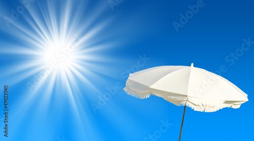 Parasol et soleil