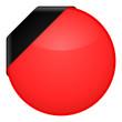 button rund rot vorlage I