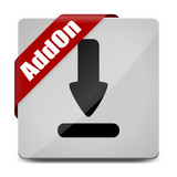 button eckig download-pfeil addon I