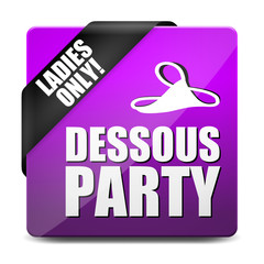button eckig dessous party I