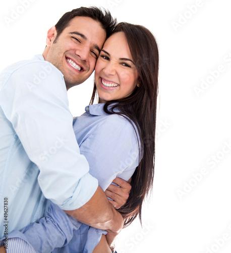 Beautiful affectionate  couple