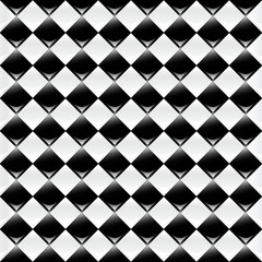 Black & White Chess Background