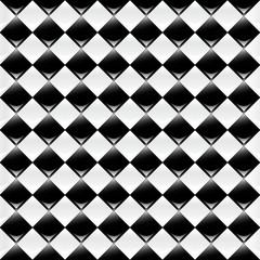 Black & White Chess Background