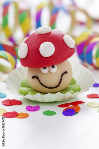 Marzipan mushroom
