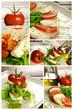 Caprese salad composition