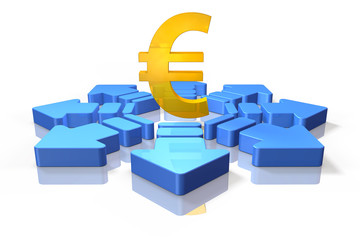 icon symbolizing the economic decision