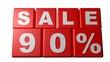 Sale 90% - Sales - Rebajas - Saldi