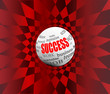 success business abstract motivation ball