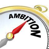 Ambition - Gold Compass Directions to Enterprising People poster