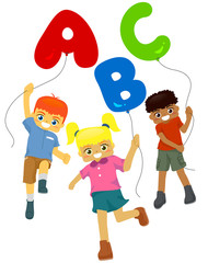 KIds Balloon ABC