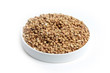 heap buckwheat groats as element preparation meal