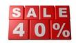 Sale 40% - Sales - Rebajas - Saldi