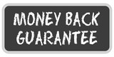 Sticker TF eckig oc MONEY BACK GUARANTEE