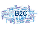 B2C Tag Cloud (business customer services consumer commerce b2b)