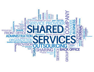 """SHARED SERVICES"" Tag Cloud (business company contact support)"