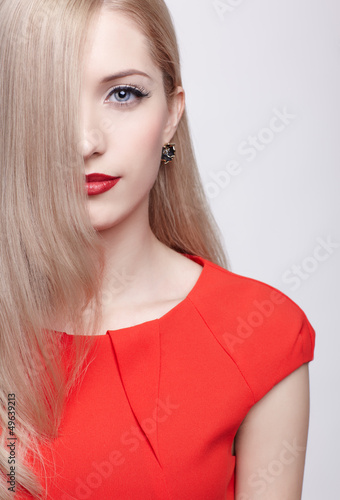 beautiful blonde woman