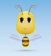 Little bee. EPS10.