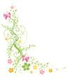 Frühling, frame, Blätter, Laub, Ranke, bunt