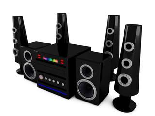 3d Stereo speakers