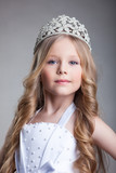 Gorgeous little girl in crown