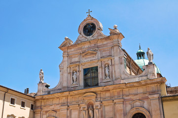 Abbey of St. Giovanni Evangelista. Parma. Emilia-Romagna. Italy.