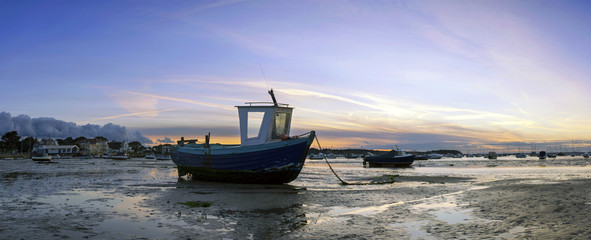 Fishing Boats Panorama