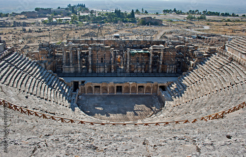 Amphitheatre in Pamukkale, Turkey