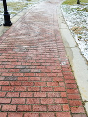 Brick Sidewalk Detail