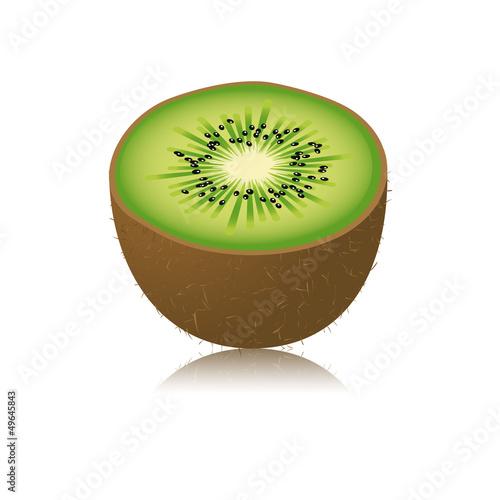Moitié de kiwi