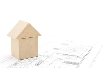 積み木の家 設計図