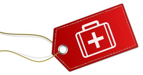 Anhänger rot Notfall