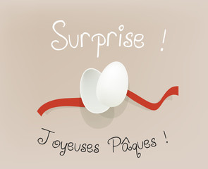oeuf surprise