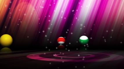 Pool Balls and Pool Tournament Text - HD1080