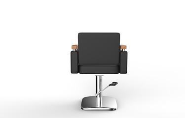 Hair Salon Chair Back View