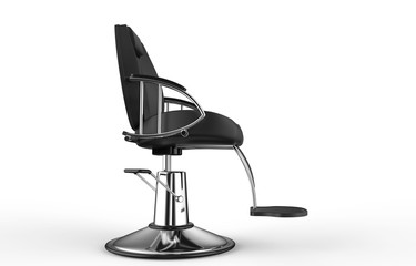 Hair Salloon Armchair Side View