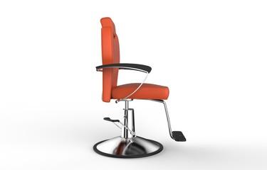 Orange Hair Salon Rotating Chair