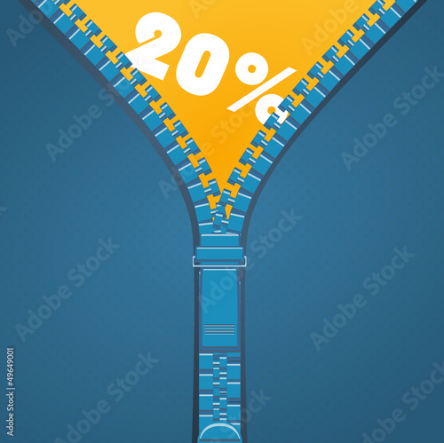 Zip - 20 percent discount