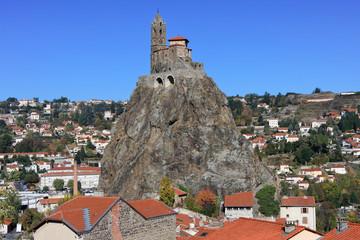 chapelle saint michel de l'aiguilhe, le Puy-en-Velay