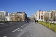 sur le pont Mirabeau de Paris