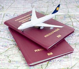 Eine Flugreise planen
