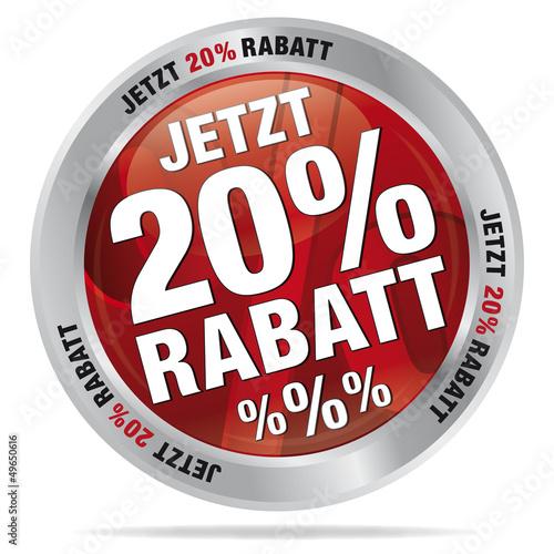 Jetzt 20 % Rabatt