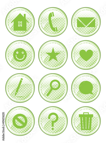 Green Action Buttons