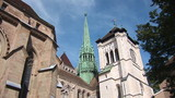 The St. Pierre Cathedral is a cathedral in Geneva, Switzerland